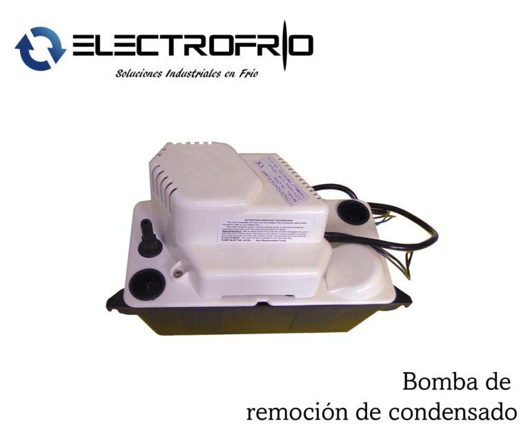 Electrofrío - Bomba de remoción de condensado 2