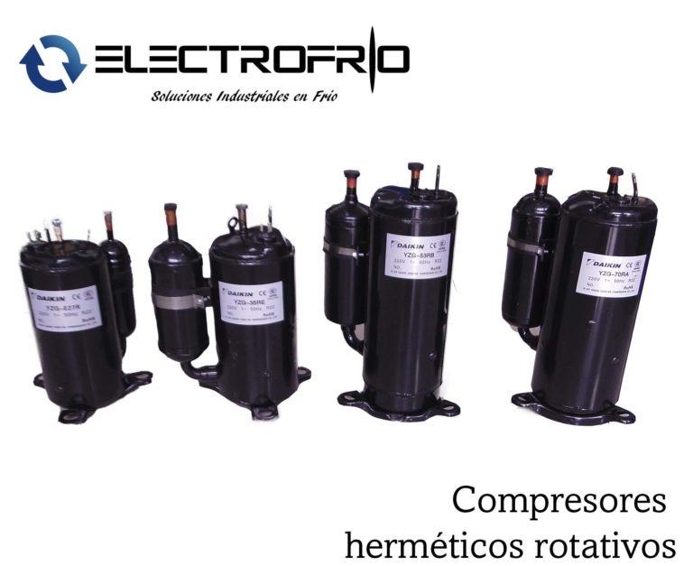 Electrofrío - Compresor hermético rotativo 2