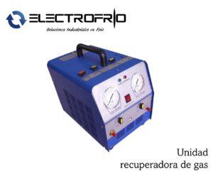 Electrofrío - Unidad recuperadora de gas 2