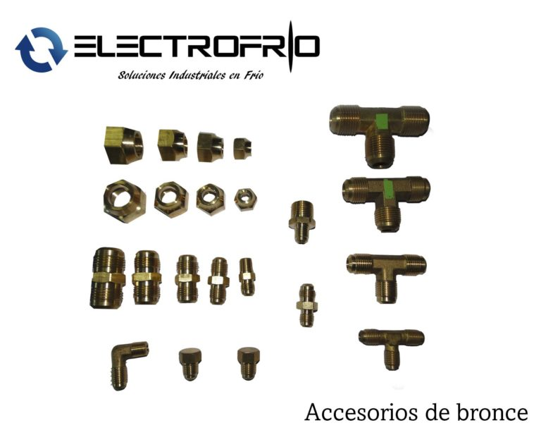 Electrofrío - Accesorios de bronce 2