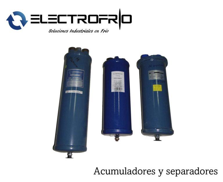 Electrofrío - Acumuladores y separadores 2