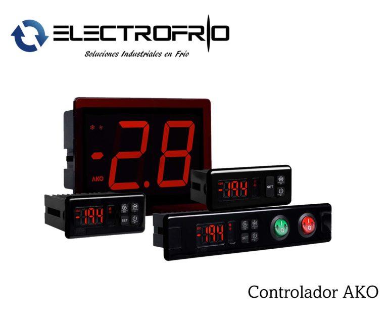 Electrofrío - Controlador AKO 2