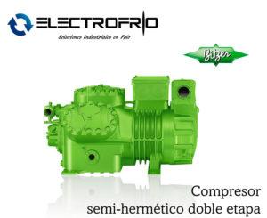 Electrofrío - Compresor semi-hermético doble etapa bitzer