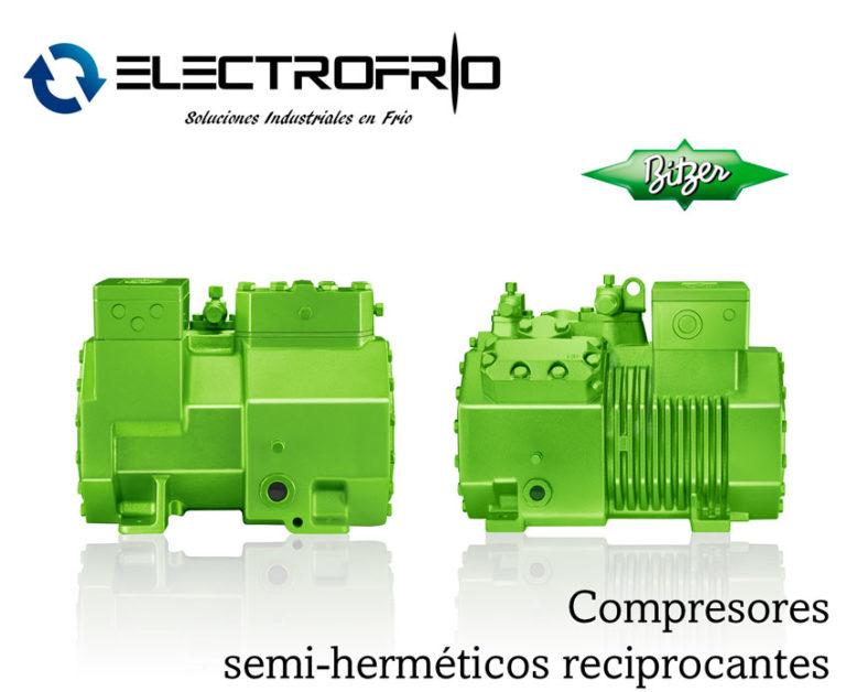 Electrofrío - Compresores semi-herméticos reciprocantes bitzer